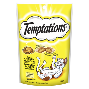 WHISKAS TEMPTATIONS TASTY...