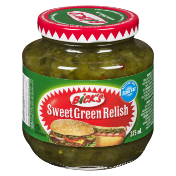 BICKS SWEET GREEN RELISH -...