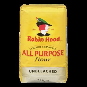 ROBIN HOOD UNBLEACHED FLOUR...