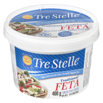 TRE STELLE FETA LIGHT - 400...