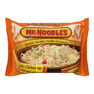 MR NOODLES CURRY CHICKEN...