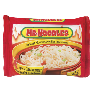 MR NOODLES SPICY CHICKEN -...