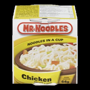 MR NOODLES CHICKEN CUP...
