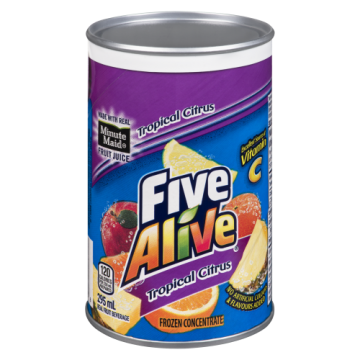 FIVE ALIVE TROPICAL CITRUS...