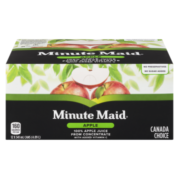MINUTE MAID APPLE JUICE -...