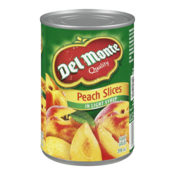 DELMONTE PEACH SLICE LIGHT...
