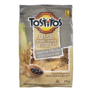 TOSTITOS ROASTED GARLIC &...