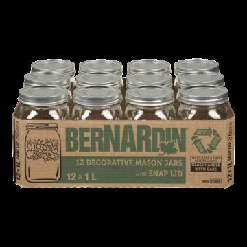 BERNARDIN DECORATIVE MASON JAR