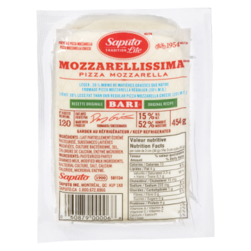 BARI MOZZARELLA CHEESE -...