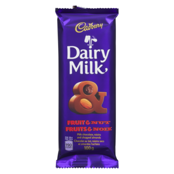 CADBURY FRUIT & NUT FAMILY...