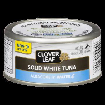 CLOVERLEAF SOLID WHITE TUNA...