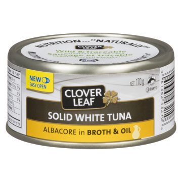 CLOVERLEAF SOLID WHITE TUNA...