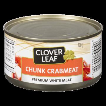 CLOVERLEAF CHUNK CRAB MEAT...