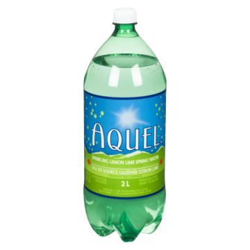 AQUEL LEMON LIME CARBONATED...