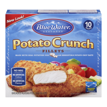 BW POTATO CRUNCH BREADED...