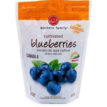 WF BLUEBERRIES IQF - 600 Gram