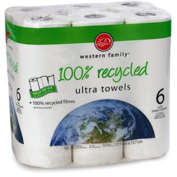 WF ENVIROWISE PAPER TOWEL