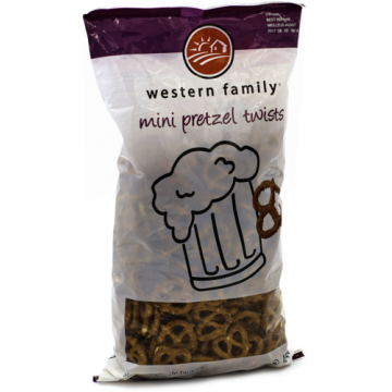 WF PRETZELS MINI TWISTS -...