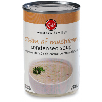 WF CREAM OF MUSHROOM SOUP -...