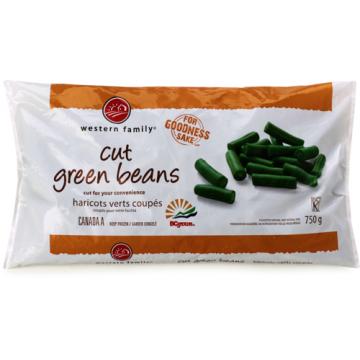 WF GREEN BEANS CUT - 750 Gram