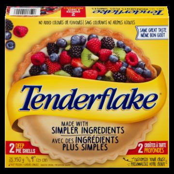 TENDERFLAKE DEEP DISH PIE...
