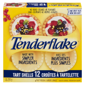 TENDERFLAKE REGULAR TART...