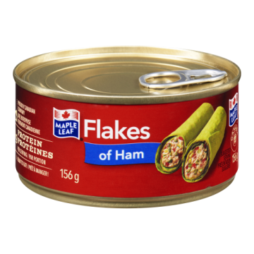 MAPLE LEAF FLAKES OF HAM -...