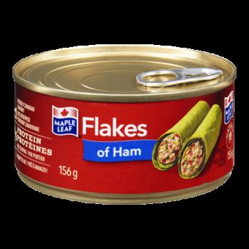 MAPLE LEAF FLAKES OF HAM -...