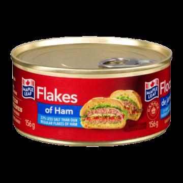 MAPLE LEAF FLAKES OF HAM...