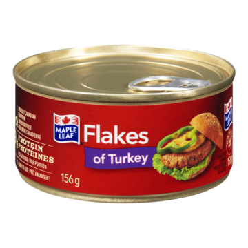 MAPLE LEAF FLAKES OF TURKEY...