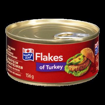 MAPLE LEAF FLAKES OF TURKEY...