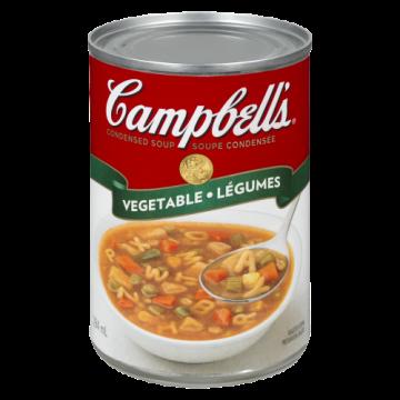 CAMPBELLS VEGETABLE SOUP -...