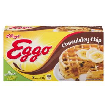 EGGO WAFFLES CHOCOLATE CHIP...