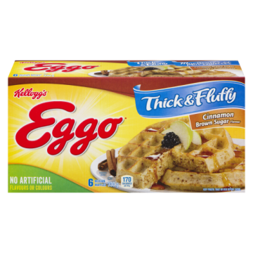 EGGO WAFFLES THICK & FLUFFY...