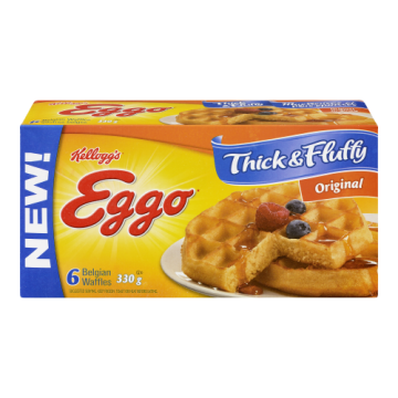 EGGO WAFFLES THICK AND...