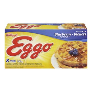 EGGO WAFFLES BLUEBERRY -...