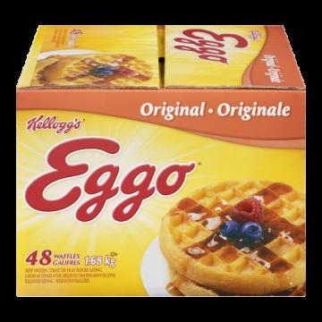 EGGO WAFFLES ORIGINAL 48'S...