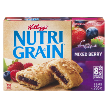 NUTRI GRAIN BARS MIXED...