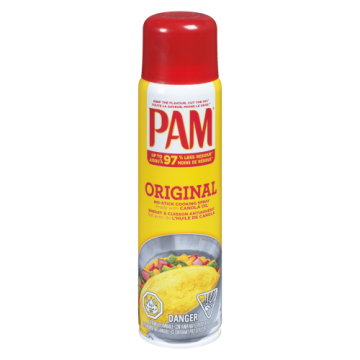 PAM VEGETABLE COOKING SPRAY...