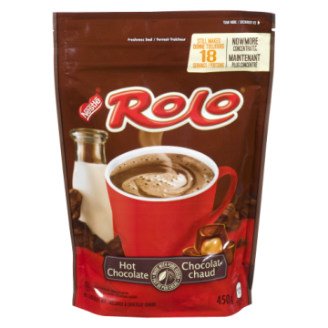 NESTLE ROLO HOT CHOCOLATE...