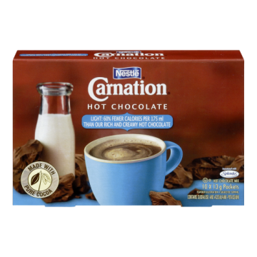CARNATION HOT CHOCOLATE LITE