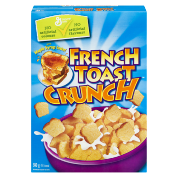 FRENCH TOAST CRUNCH CEREAL...