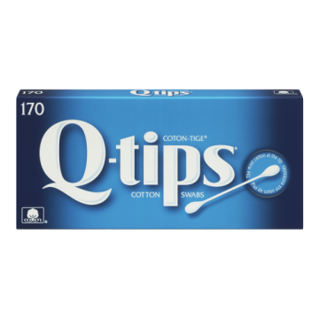 Q TIPS COTTON SWABS - 170 Pack