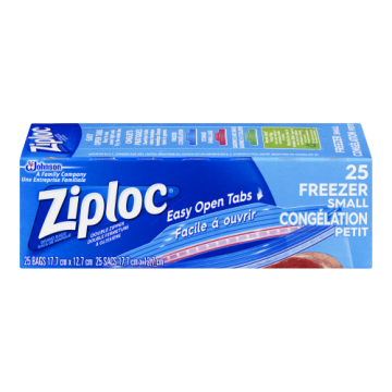 ZIPLOC FREEZER BAGS SMALL -...