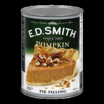 ED SMITH PUMPKIN PIE FILLER...