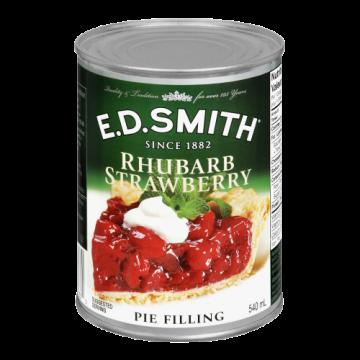 ED SMITH STRAWB RHUBARB PIE...