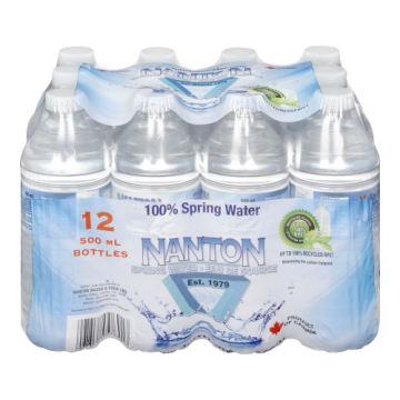 NANTON SPRING WATER - 12 Pack