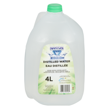 NANTON WATER DISTILLED - 4 LT