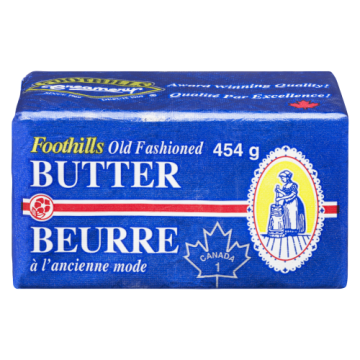 FOOTHILLS BUTTER - 454 Gram