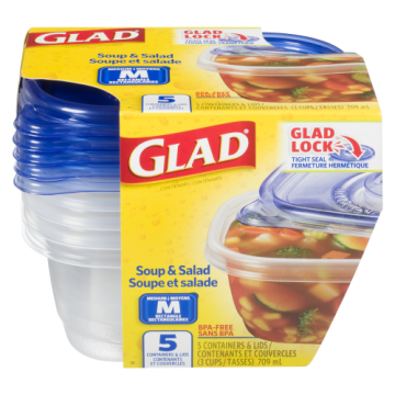 GLADWARE CONTAINERS&LIDS...